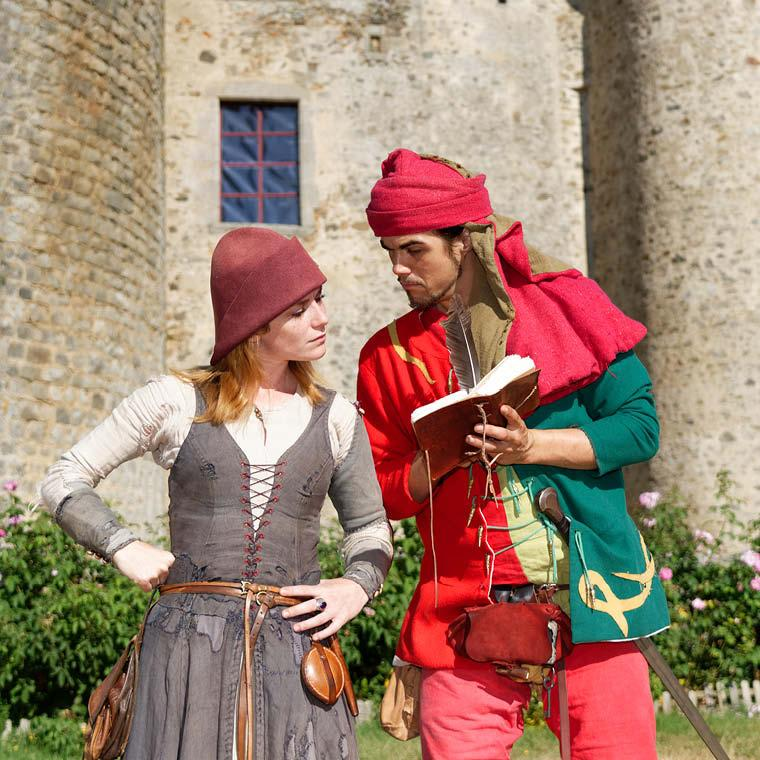 Week-end en amoureux dans un cadre médiéval