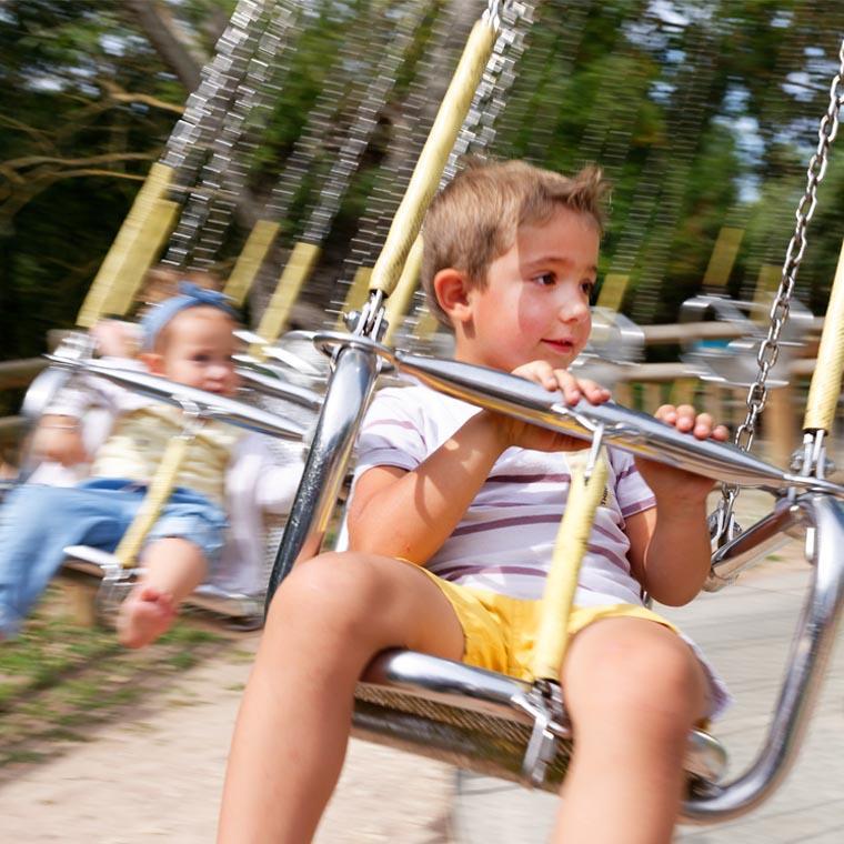 Parc de la Vallée : manège pour enfants